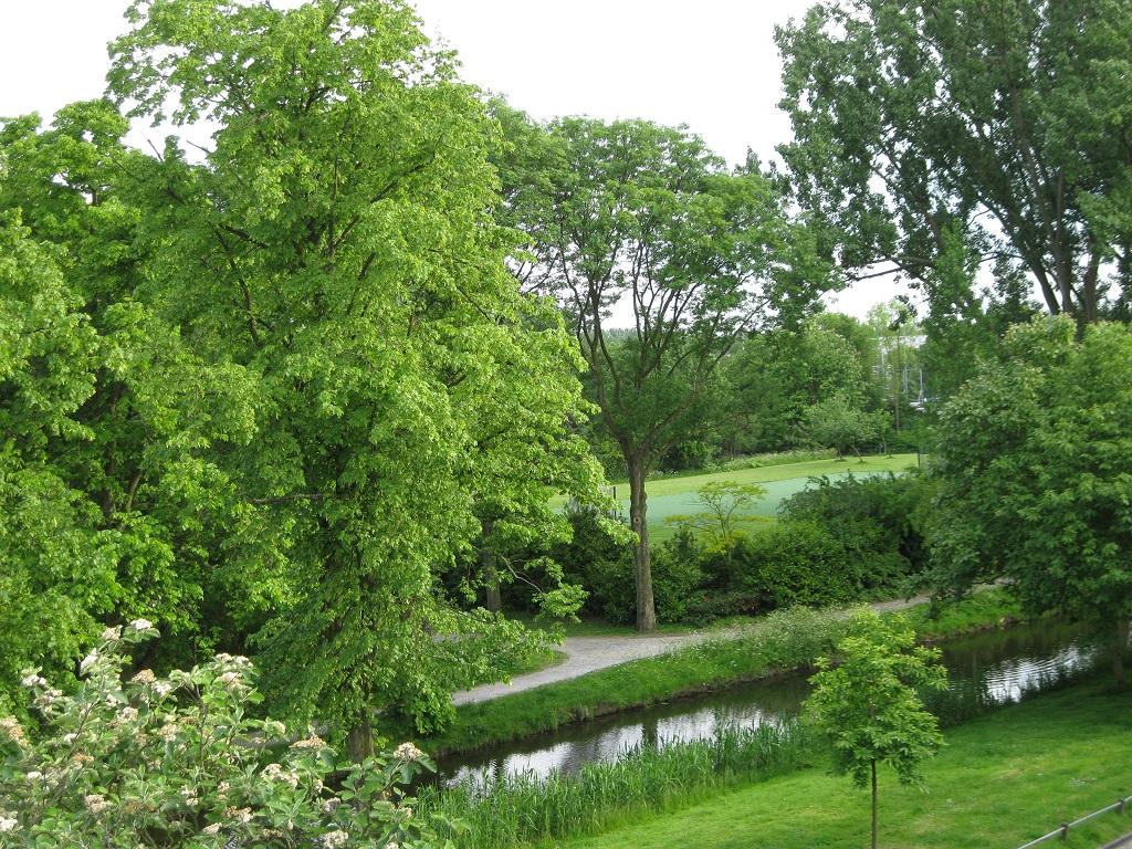Roomburgerpark aanzicht vanaf Vollenhovenkade 1024