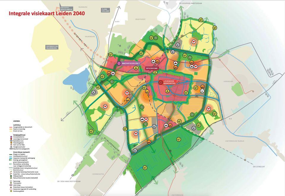 Omgevingsvisie Leiden 2040